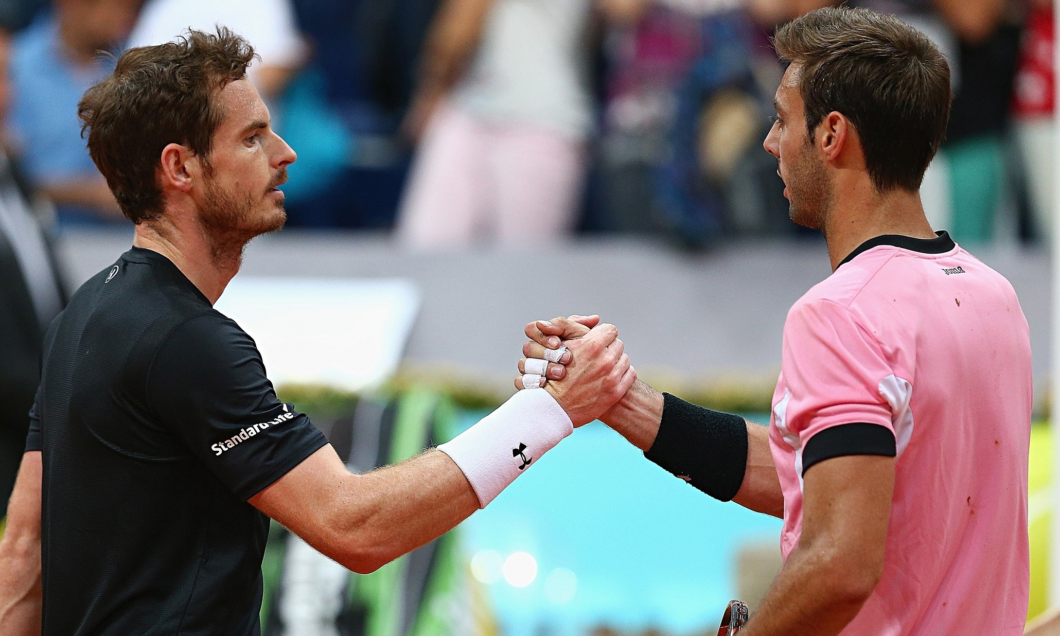 Andy Murray beats marcel granollers for 2015 madrid open quarter finals