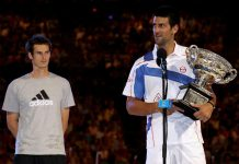 andy murray obstacle with novak djokovic 2015