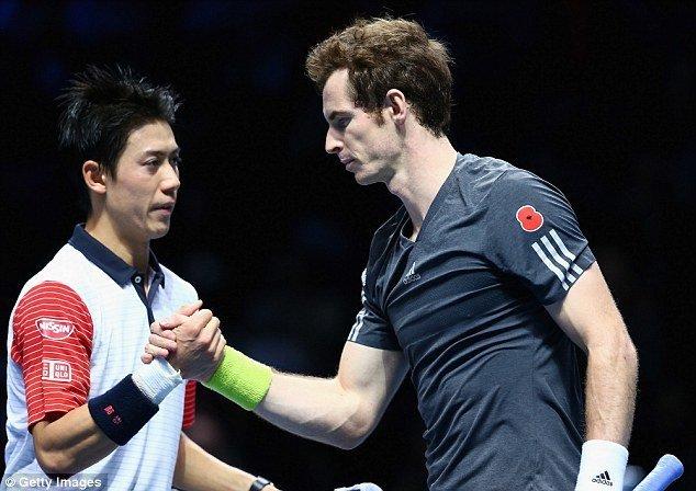 andy murray vs kei nishikori for 2015 madrid open semi finals