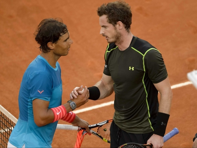 andy murray beats rafael nadal off at 2015 madrid tennis openandy murray beats rafael nadal off at 2015 madrid tennis open