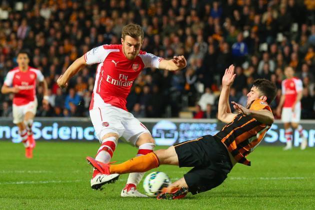 arsenal beats hull city premier league 2015