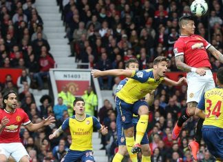 arsenal draws with manchester united premier league 2015