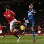 arsenal gunners vs manchester united premier league 2015
