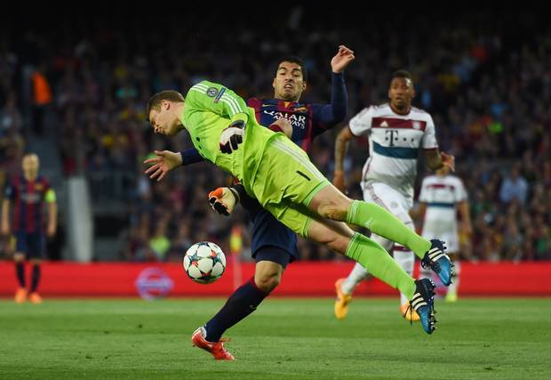 bayern munich vs barcelona 2015 images