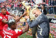 baryern munich pep golden showers for bundesliga men 2015