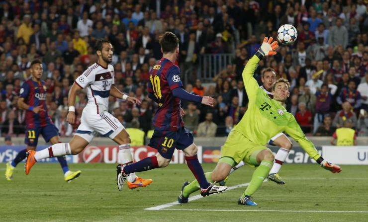 bayern munich vs barcelona 2015 images