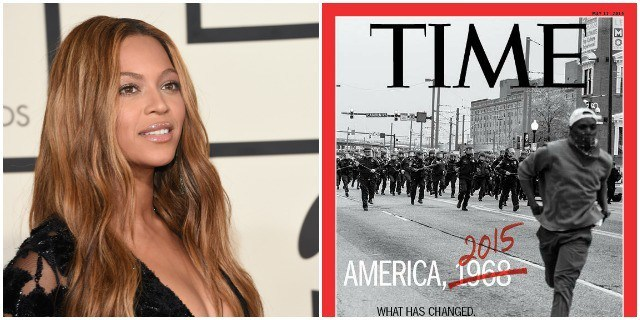 beyonce speaks about baltimore riots racism in america 2015 gossip