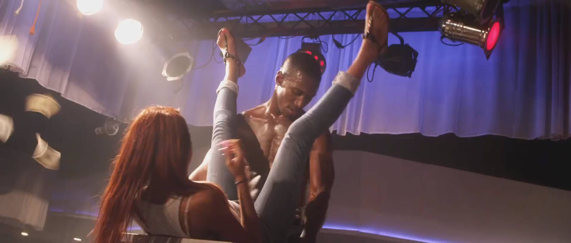 black man with girls legs wide for chocolate city 2015