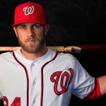 bryce harper and national red hot top men winner for mlb league 2015