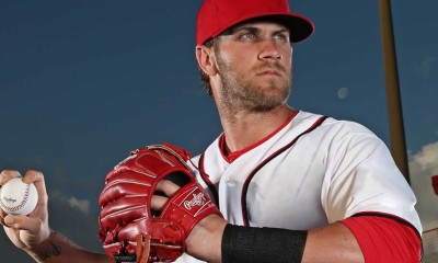 bryce harper hot performer for nationals league mlb 2015