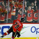 calgary flames michael ferland scores against ducks 2015 stanley cup playoffs