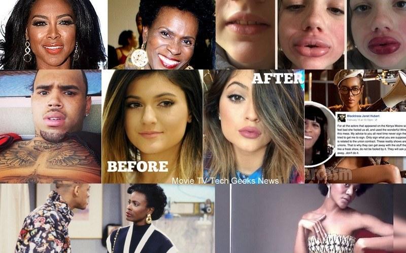 celebrity gossip chris brown kenya moore kylie jenner 2015 images