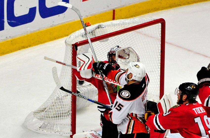 chicago blackhawks beat anaheim ducks 2015 stanley cup playoffs 6
