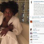 chris brown instagrams house burgler amira ayeb 2015