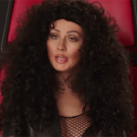 christina aguilera does cher impression on the voice 2015 gossip