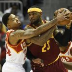 cleveland cavaliers vs atlanta hawks nba easter conference finals 2015