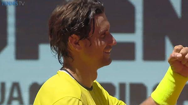 david ferrer beats albert ramos vinolas 2015 madrid open