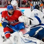 devante smith pelly gets first goal for canadiens beating lighting 2015 stanley cup playoffs