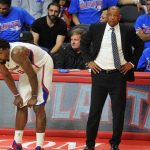 doc rivers with deandre jordan on la clippers nba 2015