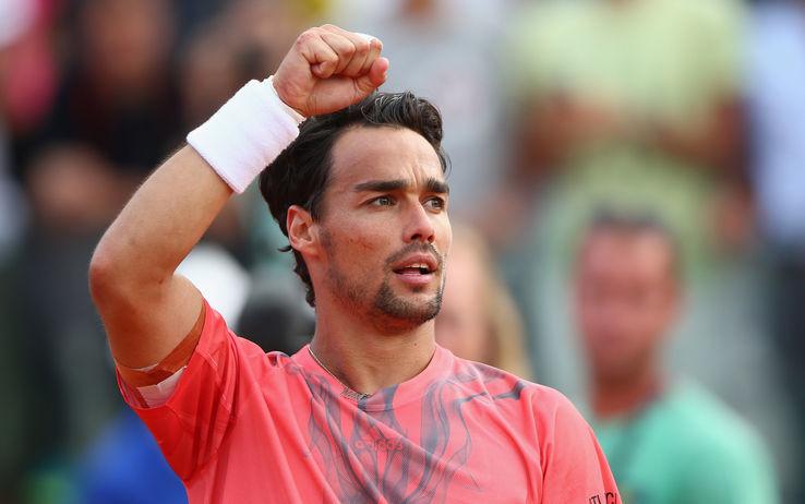 fabio fognini loses to tomas berdych 2015 rome masters open