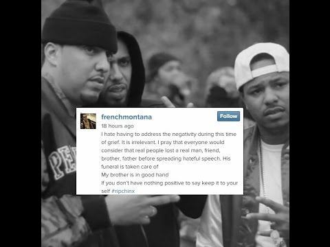 french montana bails on chinx drugx funeral 2015