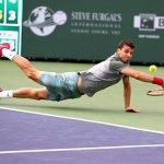 grigor dimitrov diving for fabio fognini ball 2015 rome masters open