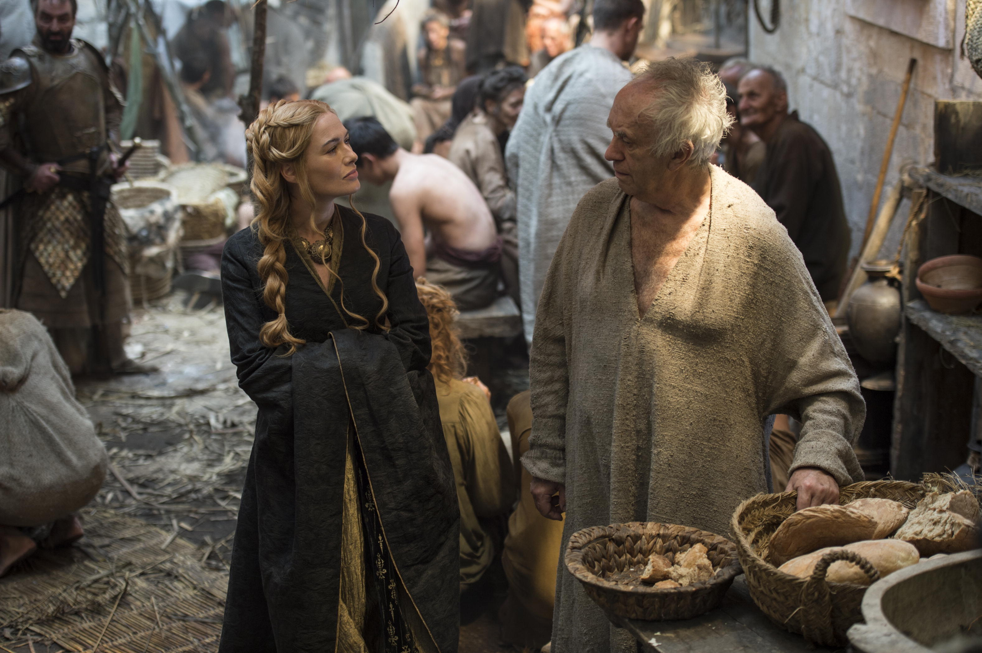 high sparrow with cersei game of thrones recap 2015