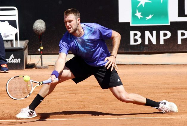 jack sock loses to gilles simon at 2015 rome masters open