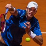 John Isner Moves To Second Round: 2015 Madrid Open