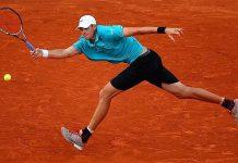 john isner going hard for 2015 rome masters open
