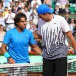 john isner vs rafael nadal loses 2015 rome masters