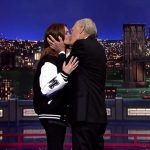 julia roberts david letterman kiss 2015 gossip