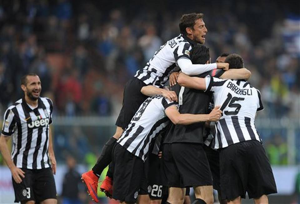 juventus wins serie a title soccer 2015