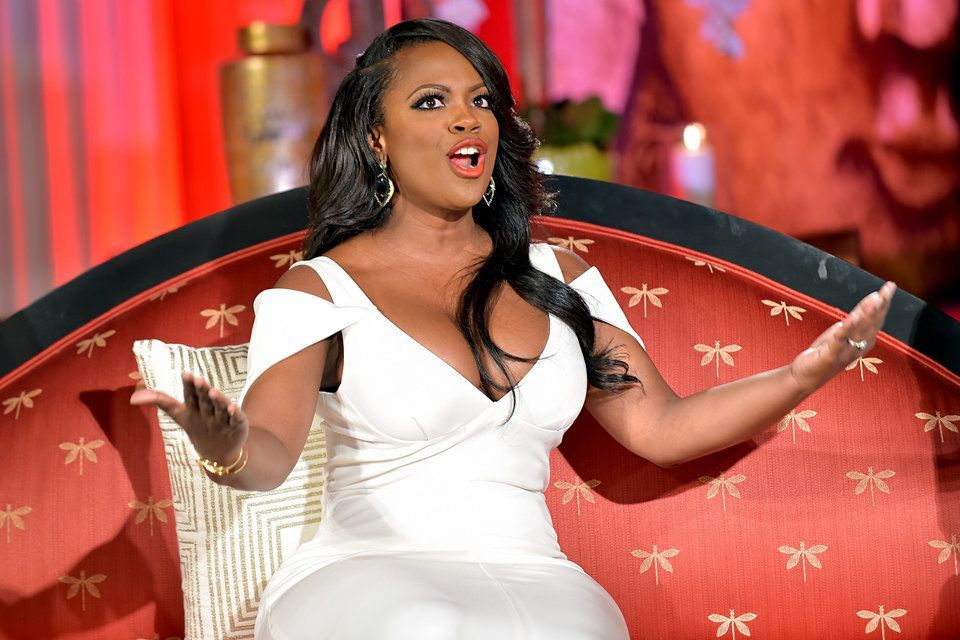 kandi burress on boobs for rhoa reunion 2015