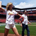 karlie kross victorias secret throws for cardinals 2015 gossip