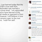 kenya moore instagram about married man 2015