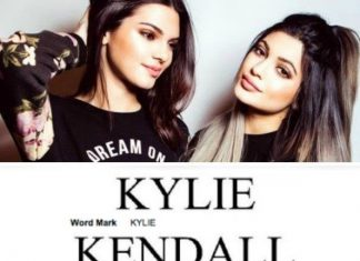 kylie kendall trademarking 2015