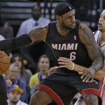 lebron james with steph curry for nba finals 2015