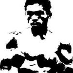 manny pacquiao shadow images vs floyd mayweather 2015