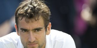 Marin Cilic of Croatia as David Nalbandi
