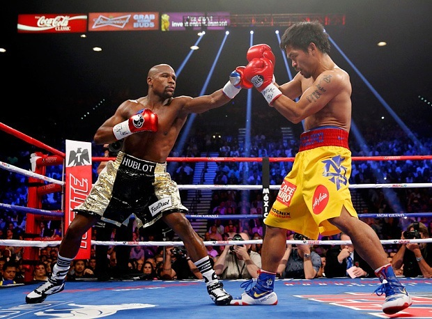mayweather pacquiao fight 2015 images