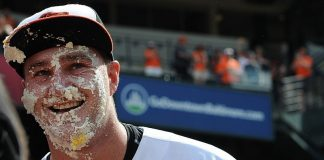 mike wright hot man for orioles pie face american league mlb 2015