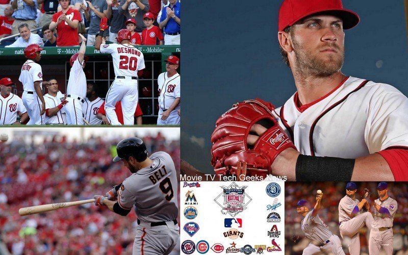 national league week 6 bryce harper top men mlb 2015 images