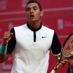 nick kyrgios beats roger federer madrid open 2015