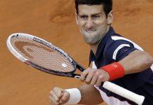 novak djokovic beats nicolas almaro 2015 rome masters open