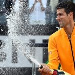 novak djokovic celebrates rome open win 2015