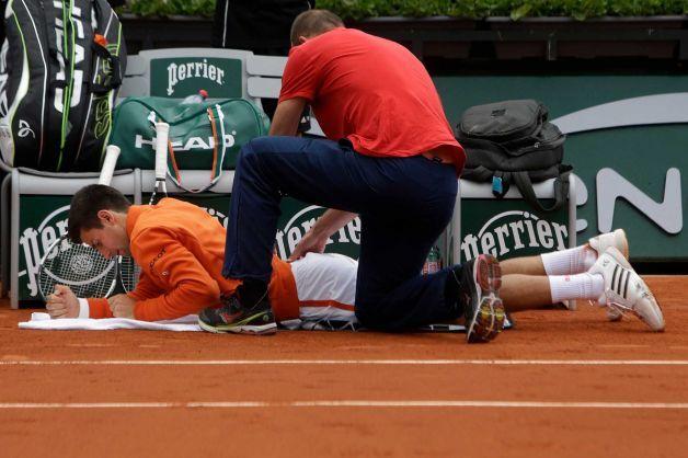 novak djokovic not worried about groin injury french open 2015