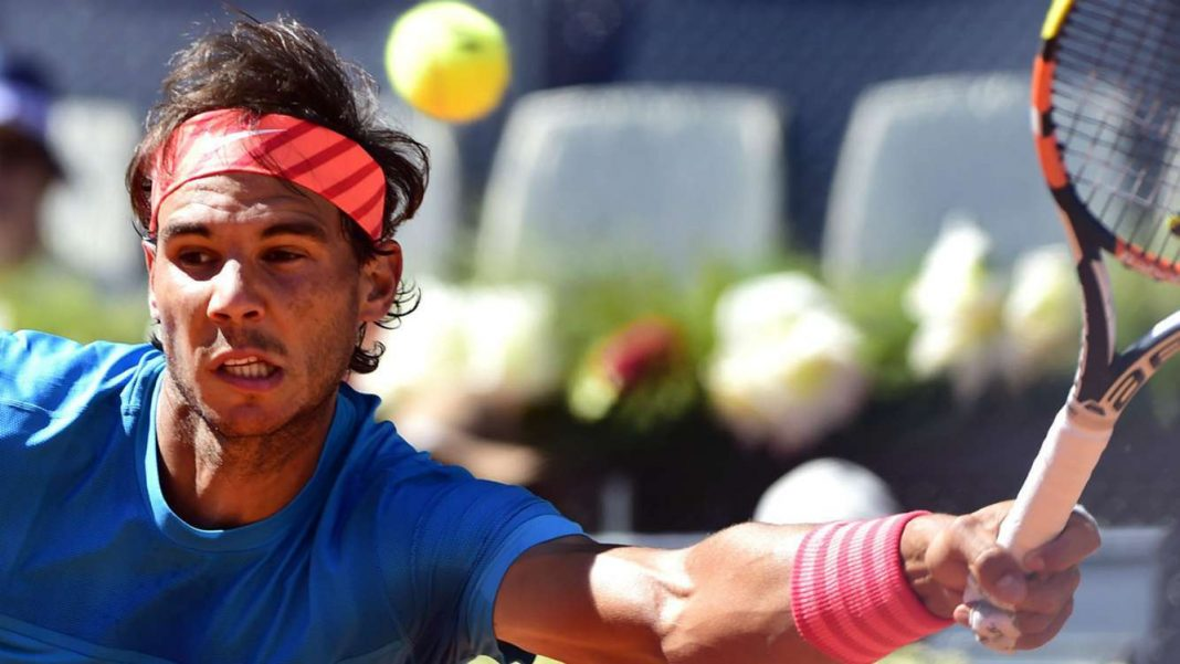 rafael nadal beats grigor dimitrov moves to 2015 madrid open semi finals