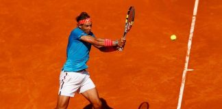 rafael rafi nadal returns to and beats off marsel ilhan 2015 rome masters open