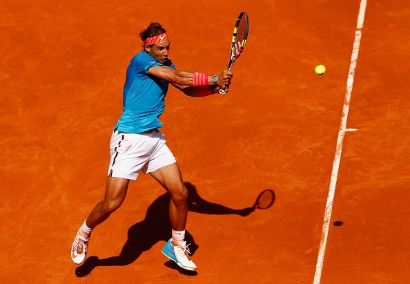 rafael nadal beats marsel ilhan 2015 rome masters open